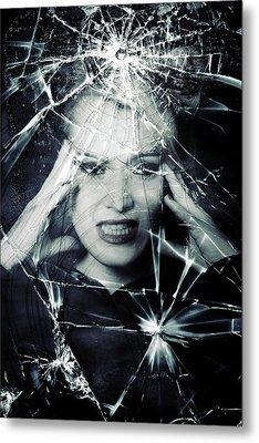 Broken Window Metal Print by Joana Kruse