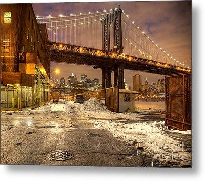 Brooklyn Metal Print by Denis Tangney Jr