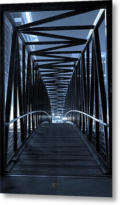 Brown's Island Bridge Metal Print by Brian Archer
