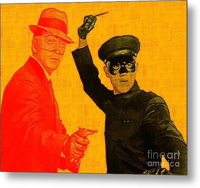 Bruce Lee Kato And The Green Hornet 20130216 Metal Print by Wingsdomain Art and Photography