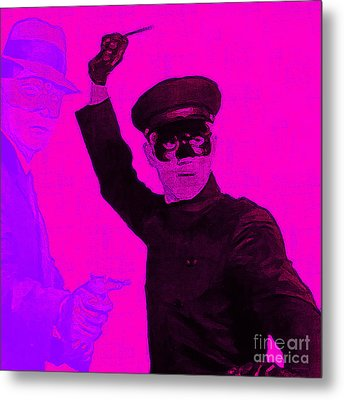 Bruce Lee Kato And The Green Hornet - Square M88 Metal Print by Wingsdomain Art and Photography