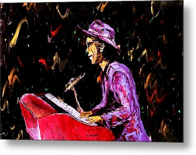 Bruno Mars  Metal Print by Mark Moore