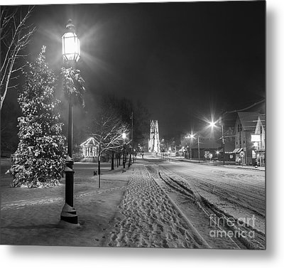 Brunswick Maine Metal Print by Benjamin Williamson