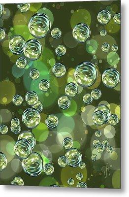Bubbles Metal Print by Veronica Minozzi