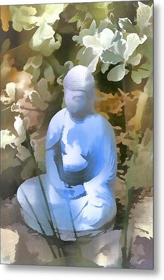 Buddha 3 Metal Print by Pamela Cooper