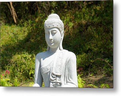 Buddha Metal Print by Aged Pixel