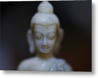 Buddha Metal Print by Brady D Hebert