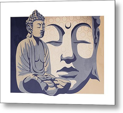 Buddha Metal Print by Sassan Filsoof
