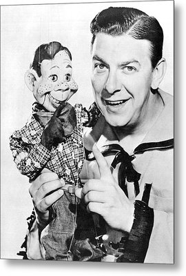 Buffalo Bob And Howdy Doody Metal Print by Underwood Archives