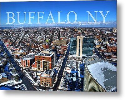 Buffalo Ny Winter 2013 Metal Print by Michael Frank Jr