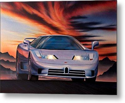 Bugatti Metal Print by Garry Walton