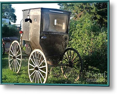 Buggy Metal Print by PainterArtist FIN