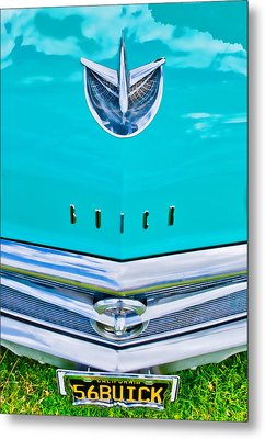 Buick Grill Metal Print by Phil 'motography' Clark