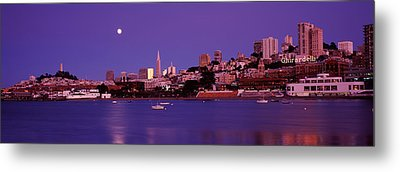 Buildings At The Waterfront, San Metal Print by Panoramic Images