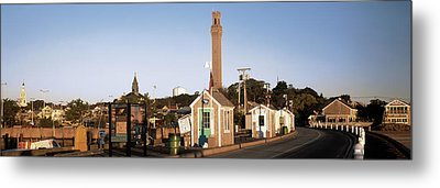 Buildings In A City, Provincetown, Cape Metal Print by Panoramic Images