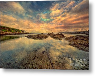 Bull Bay Metal Print by Adrian Evans