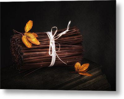 Bundle Of Sticks Still Life Metal Print by Tom Mc Nemar