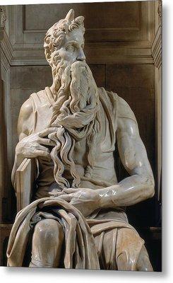 Buonarroti Michelangelo, Tomb Of Giulio Metal Print by Everett