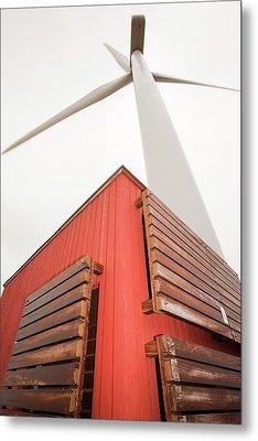 Burgar Hill Wind Farm Metal Print by Ashley Cooper