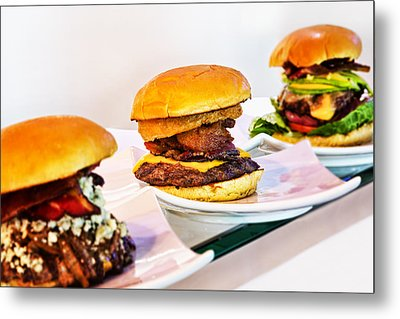 Burger Time Metal Print by Kelley King