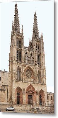 Burgos Cathedral Spain Metal Print by Rudi Prott