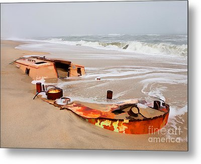 Buried Treasure On The Outer Banks II Metal Print by Dan Carmichael