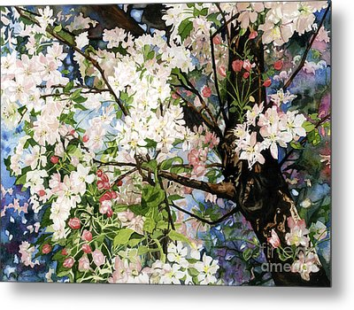 Burst Of Spring Metal Print by Barbara Jewell