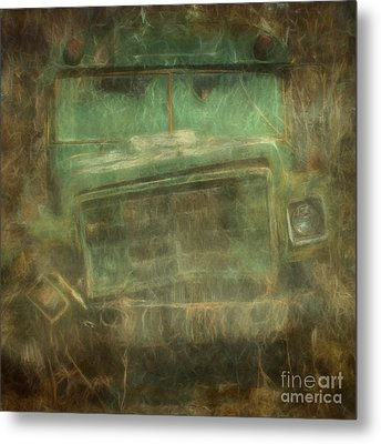 Busted And Broke Metal Print by Bruce Stanfield
