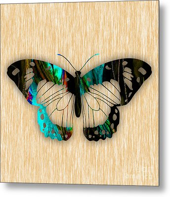 Butterfly Metal Print by Marvin Blaine