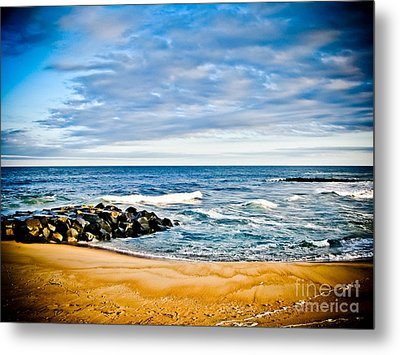 By The Beautiful Sea Metal Print by Colleen Kammerer
