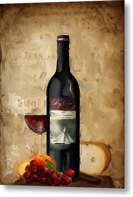 Cabernet Iv Metal Print by Lourry Legarde