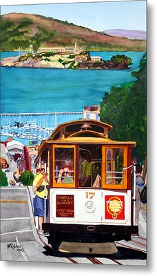 Cable Car No. 17 Metal Print by Mike Robles