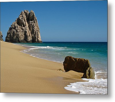 Cabo San Lucas Beach 1 Metal Print by Shane Kelly