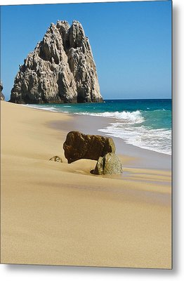 Cabo San Lucas Beach 2 Metal Print by Shane Kelly