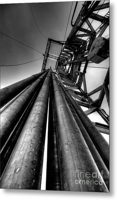 Cac001bw-14 Metal Print by Cooper Ross