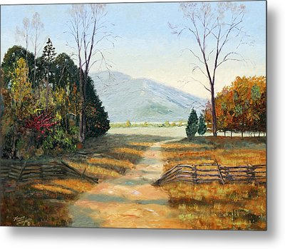 Cades Cove Metal Print by Tommy Thompson