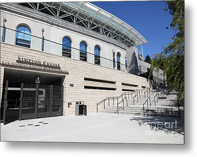 Cal Golden Bears California Memorial Stadium Berkeley California 5d24751 Metal Print by Wingsdomain Art and Photography