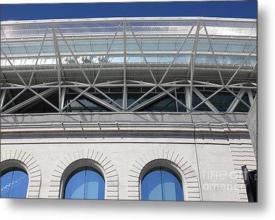 Cal Golden Bears California Memorial Stadium Berkeley California 5d24753 Metal Print by Wingsdomain Art and Photography