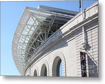 Cal Golden Bears California Memorial Stadium Berkeley California 5d24757 Metal Print by Wingsdomain Art and Photography