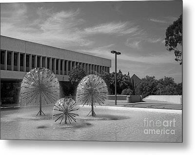 Cal State University Long Beach Student Union Metal Print by University Icons