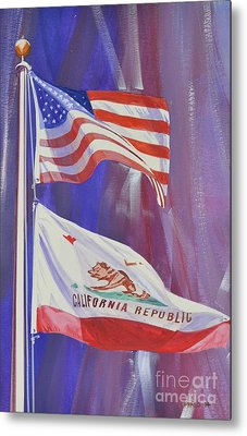 California Baby Metal Print by Marco Ippaso