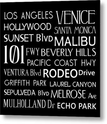 California Destinations Metal Print by Jaime Friedman