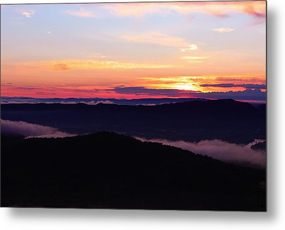 Call Of The Mountains Metal Print by Rachel Cohen