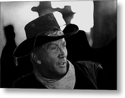 Cameron Mitchell The High Chaparral Metal Print by David Lee Guss