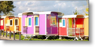Camping With Style Metal Print by Karen Weetman