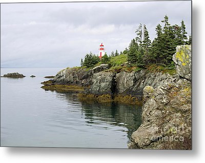 Campobello Island -  East Quoddy Lightstation Metal Print by Christiane Schulze Art And Photography