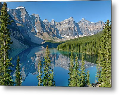 Canada, Banff National Park, Valley Metal Print by Jamie and Judy Wild