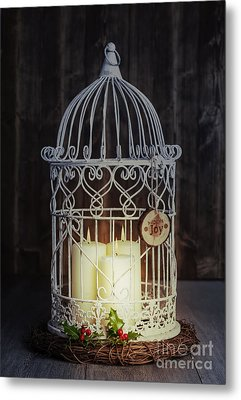Candles At Night Metal Print by Amanda And Christopher Elwell