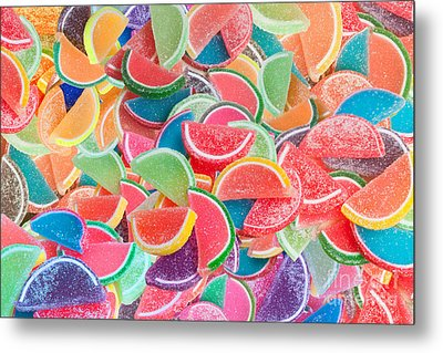 Candy Fruit Metal Print by Alixandra Mullins