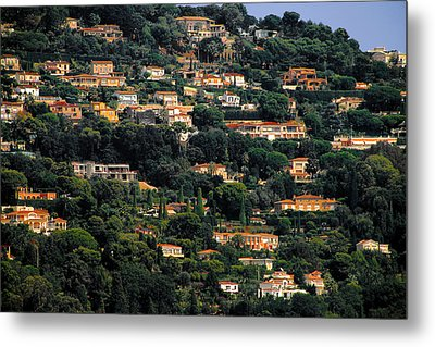 Cannes - Life Which Everybody Dreams Of Living Metal Print by Christine Till